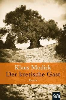 Klaus Modick: Der kretische Gast, Buch