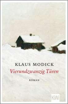 Klaus Modick: Vierundzwanzig Türen, Buch