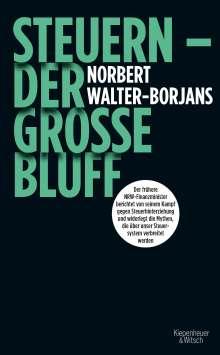 Norbert Walter-Borjans: Steuern - Der große Bluff, Buch