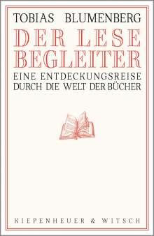 Tobias Blumenberg: Der Lesebegleiter, Buch