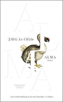 J. M. G. Le Clézio: Alma, Buch