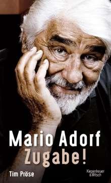 Tim Pröse: Mario Adorf. Zugabe!, Buch