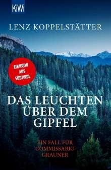 Lenz Koppelstätter: Das Leuchten über dem Gipfel, Buch