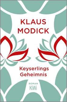 Klaus Modick: Keyserlings Geheimnis, Buch