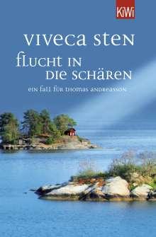 Viveca Sten: Flucht in die Schären, Buch