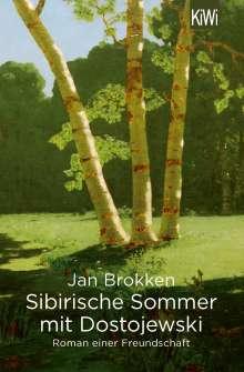 Jan Brokken: Sibirische Sommer mit Dostojewski, Buch