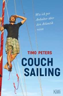 Timo Peters: Couchsurfing auf dem Atlantik, Buch
