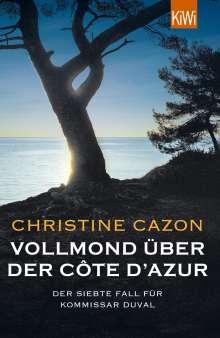 Christine Cazon: Vollmond über der Côte d'Azur, Buch