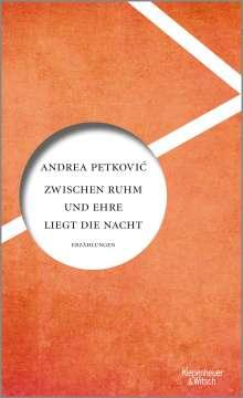 Andrea Petkovic: Zwischen Ruhm und Ehre liegt die Nacht, Buch