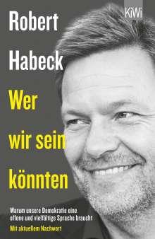 Robert Habeck: Wer wir sein könnten, Buch