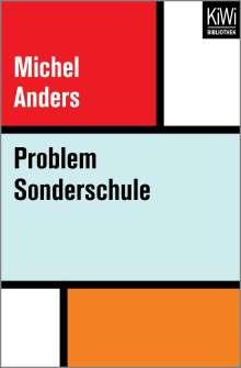 Michel Anders: Problem Sonderschule, Buch