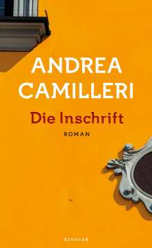 Andrea Camilleri (1925-2019): Die Inschrift, Buch