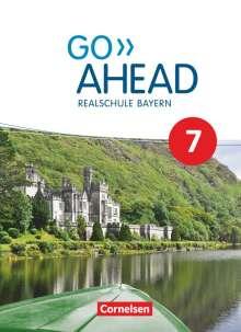 Annette Baader: Go Ahead 7. Jahrgangsstufe - Ausgabe für Realschulen in Bayern - Schülerbuch, Buch