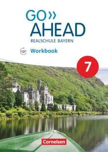 James Abram: Go Ahead 7. Jahrgangsstufe - Ausgabe für Realschulen in Bayern - Workbook mit Audios online, Buch
