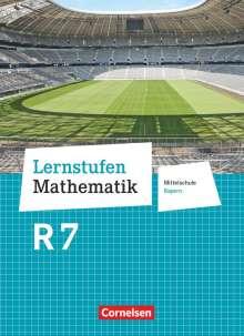 Helga Berkemeier: Lernstufen Mathematik  7. Jahrgangsstufe - Mittelschule Bayern. Für R-Klassen - Schülerbuch, Buch