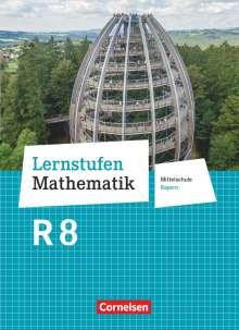 Andrea Kristina Deeg: Lernstufen Mathematik 8. Jahrgangsstufe - Mittelschule Bayern - Schülerbuch, Buch