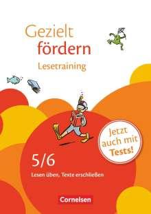Ellen Schulte-Bunert: Gezielt fördern 5./6. Schuljahr. Lesetraining, Buch