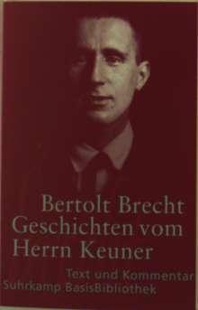 Bertolt Brecht: Geschichten vom Herrn Keuner, Buch