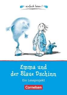 Caroline Roeder: einfach lesen! Für Leseanfänger - Emma und der Blaue Dschinn, Buch