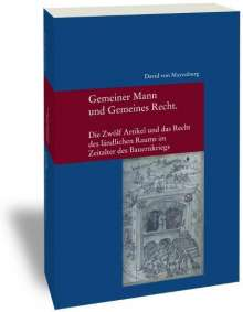 David von Mayenburg: Gemeiner Mann und Gemeines Recht, Buch