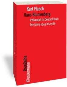 Kurt Flasch: Hans Blumenberg, Buch