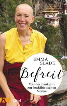 Emma Slade: Befreit, Buch