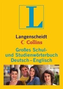 Langenscheidt Collins Großes Schulwörterbuch Englisch: Deutsch-Englisch, Buch