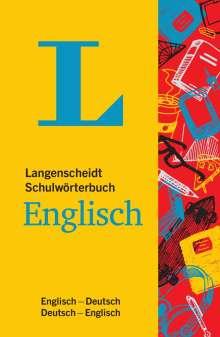 Langenscheidt Schulwörterbuch Englisch  - Mit Info-Fenstern zu Wortschatz & Landeskunde, Buch