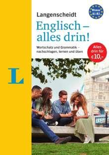 Langenscheidt Englisch - alles drin!  - Basiswissen Englisch in einem Band, Buch