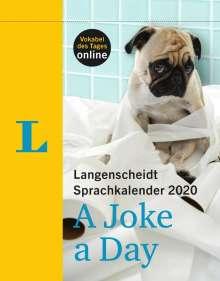 Langenscheidt Sprachkalender 2020 A Joke a Day Abreißkalender, Diverse