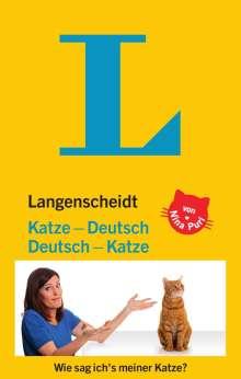 Nina Puri: Langenscheidt Katze-Deutsch/Deutsch-Katze, Buch