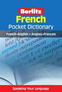 Berlitz Pocket Dictionary French, Buch