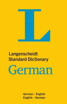 Langenscheidt Standard Dictionary German, Buch