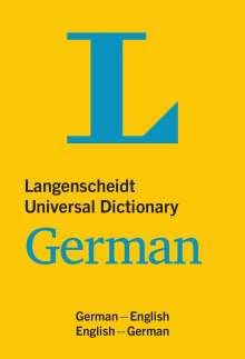 Langenscheidt Universal Dictionary German, Buch
