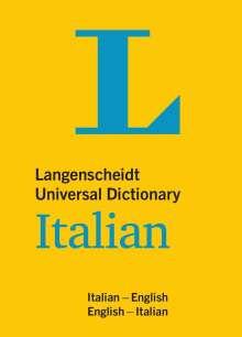 Langenscheidt Universal Dictionary Italian, Buch