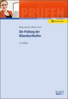 Frank Dolge: Die Prüfung der Bilanzbuchhalter, 1 Buch und 1 Diverse