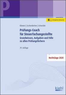 Ekkehard Kliewer: Prüfungs-Coach für Steuerfachangestellte, 1 Buch und 1 Diverse