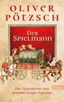 Oliver Pötzsch: Der Spielmann, Buch