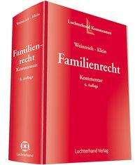 Gerd Weinreich: Familienrecht Kommentar, Buch