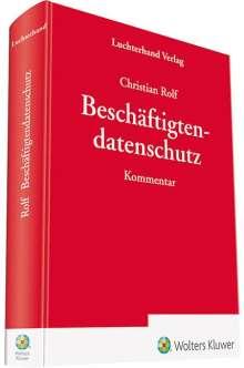 Christian Rolf: Beschäftigtendatenschutz, Buch