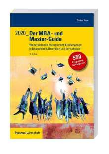 Detlev Kran: Der MBA- und Master-Guide 2020, Buch