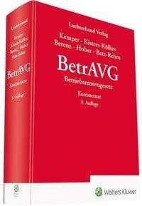 Claus Berenz: BetrAVG - Kommentar, Buch
