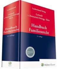 Handbuch Familienrecht, Buch