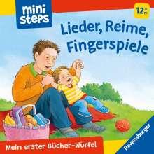 Christine Meier: Mein erster Bücher-Würfel: Lieder, Reime, Fingerpiele (Bücher-Set), Buch