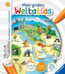Inka Friese: tiptoi® Mein großer Weltatlas, Buch