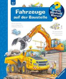 Andrea Erne: Fahrzeuge auf der Baustelle, Buch