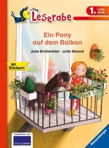 Julia Breitenöder: Ein Pony auf dem Balkon, Buch