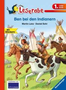 Martin Lenz: Ben bei den Indianern, Buch