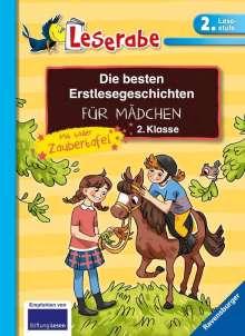 Claudia Ondracek: Die besten Erstlesegeschichten für Mädchen 2. Klasse mit toller Zaubertafel, Buch