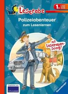 Katja Reider: Polizeiabenteuer zum Lesenlernen, Buch